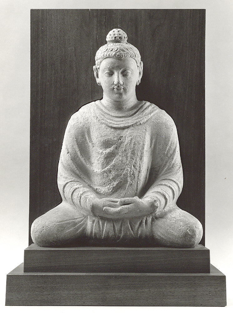 Meditating Buddha Pakistan Ancient Region Of Gandhara The Met