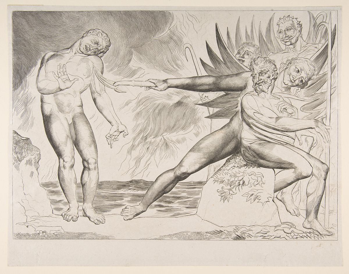 William Blake The Circle Of Corrupt Officials The Devils