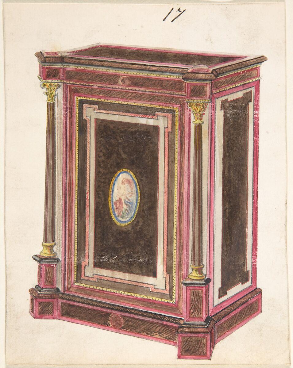 Anonymous, British, 19th century   Cabinet Design   The Met
