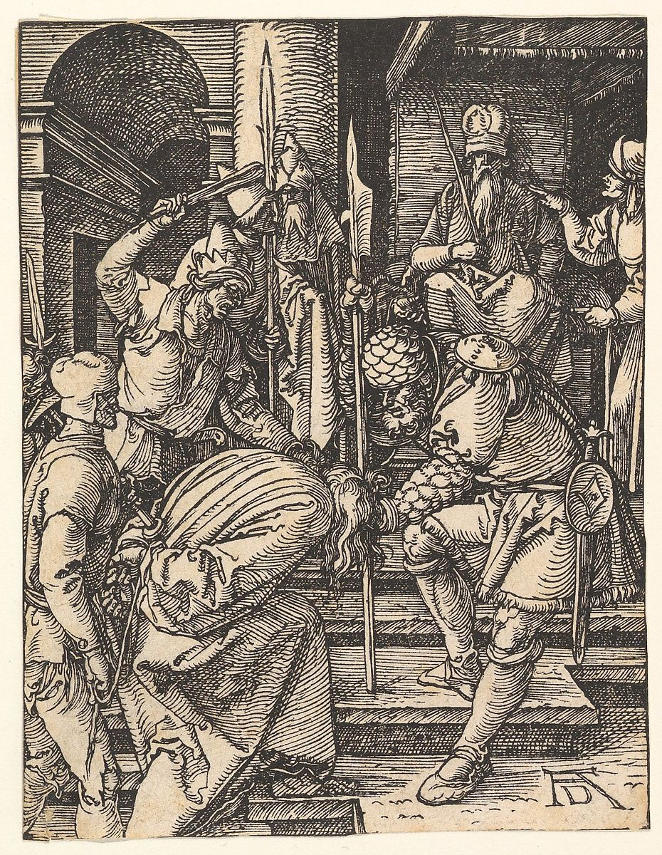 Albrecht Dürer | Christ Before Annas, from The Small Passion | The Met