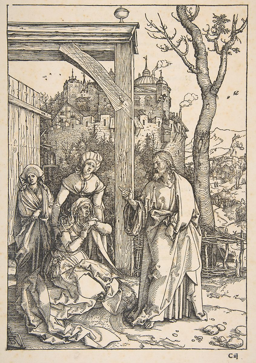 Albrecht D\u00fcrer | Christ Taking Leave of His Mother, from ...