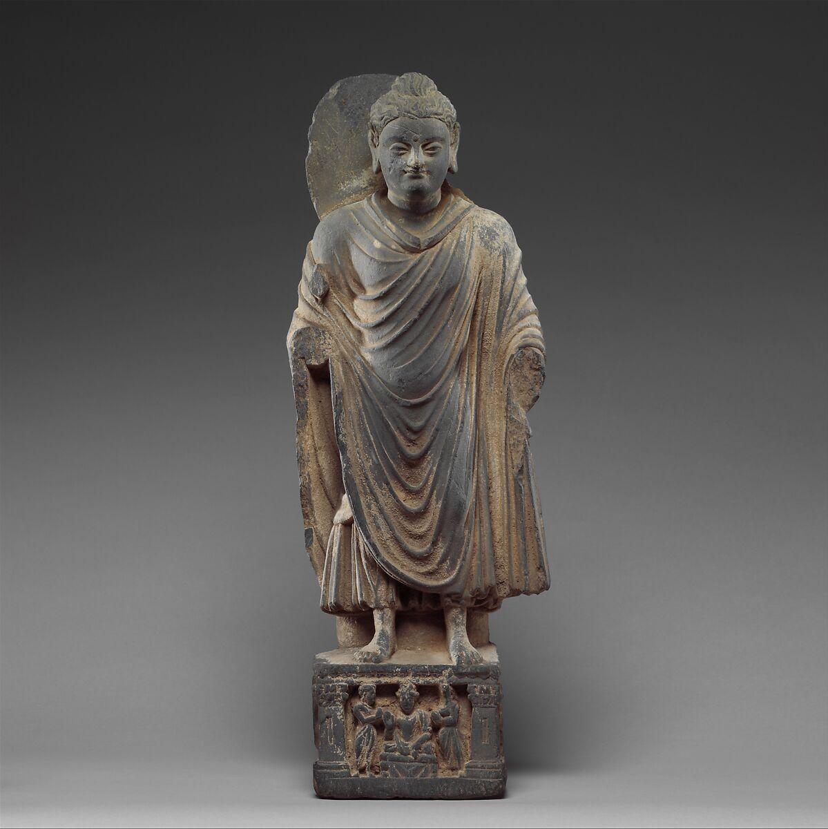 Standing Buddha Pakistan Ancient Region Of Gandhara The Met