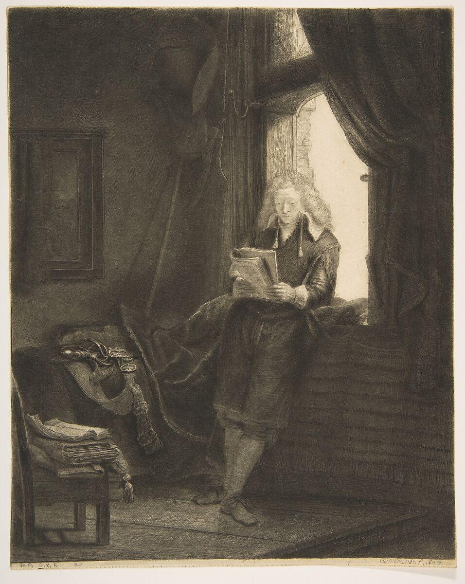 Rembrandt (Rembrandt van Rijn) | Jan Six | The Met