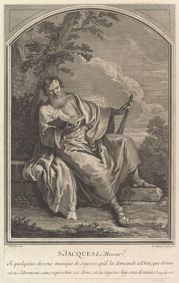 Saint Jacques Le Mineur, Edmé Jeaurat (French, Vermenton 1688–1738 Paris), Etching and engraving
