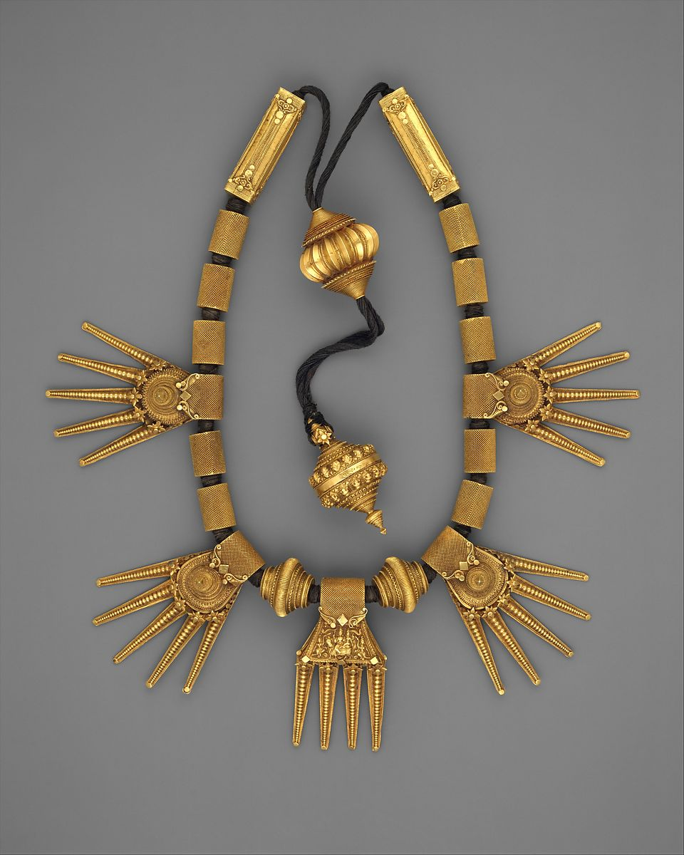 Marriage Necklace (Thali)   India (Tamil Nadu, Chetiar)   The Met
