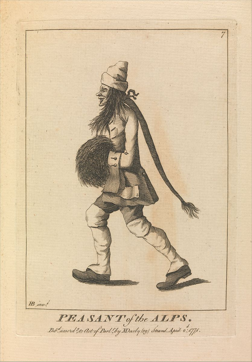 After Henry William Bunbury | Peasant of the Alps | The Met
