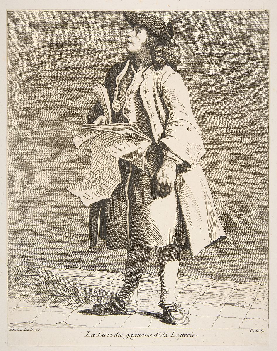 Anne Claude Philippe de Tubi\u00e8res, comte de Caylus   The Reading of Lottery Winners   The ...