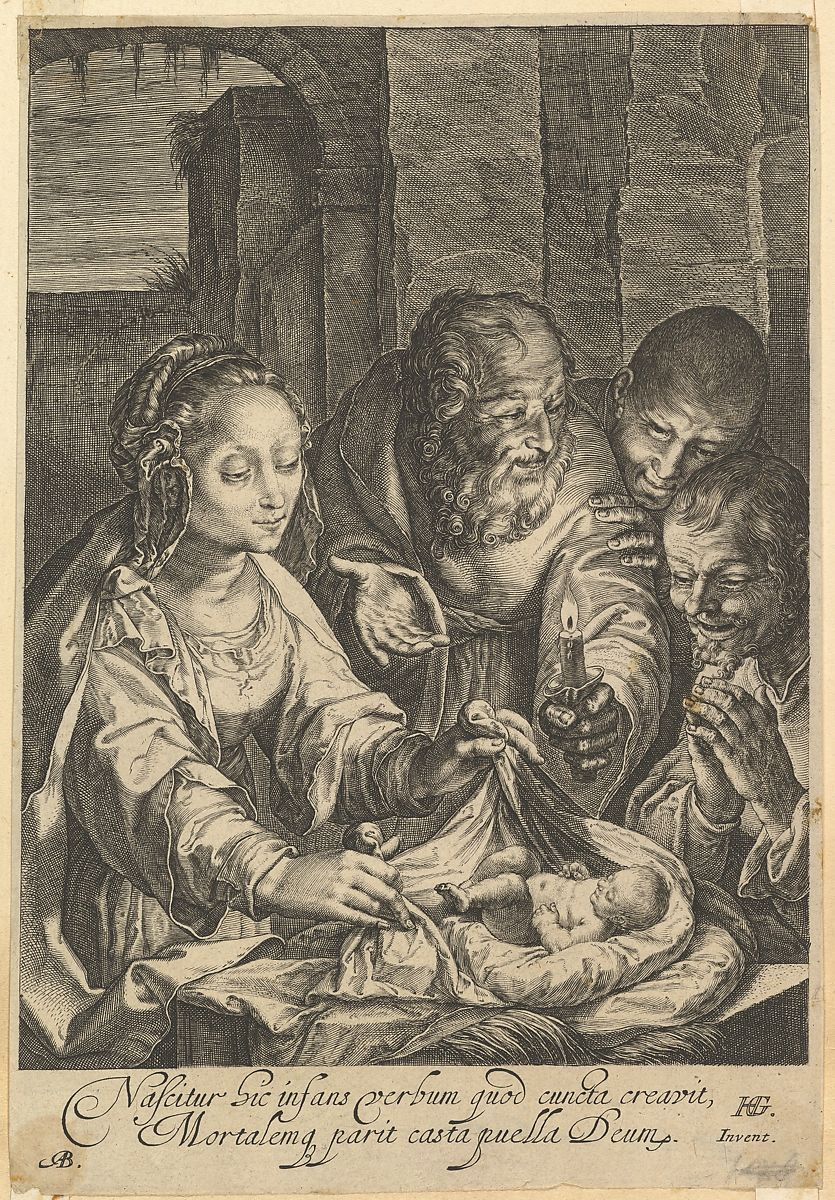 Abraham Blooteling   The Adoration of the Shepherds   The Met