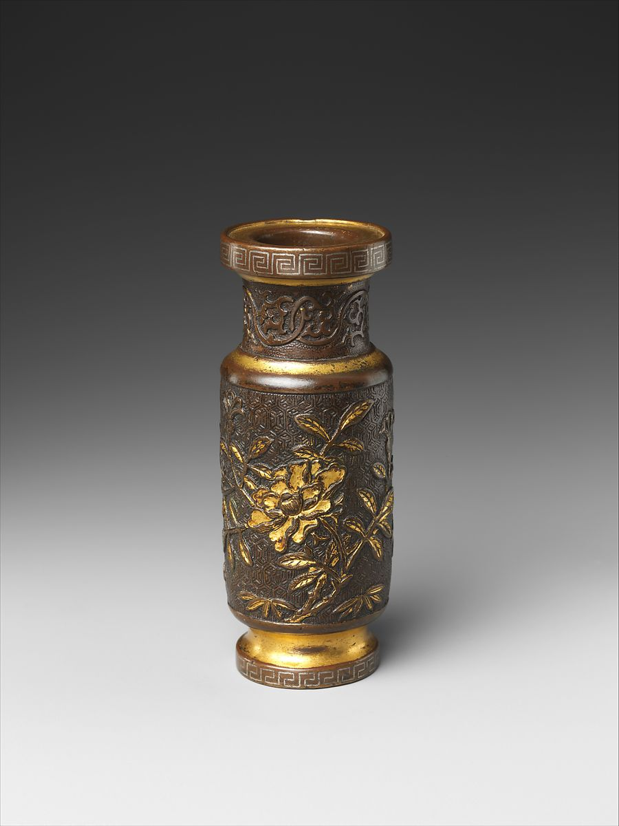 Attributed To Hu Wenming Bottle For Incense Tools From A Set China Ming Dynasty 1368 1644 The Metropolitan Museum Of Art
