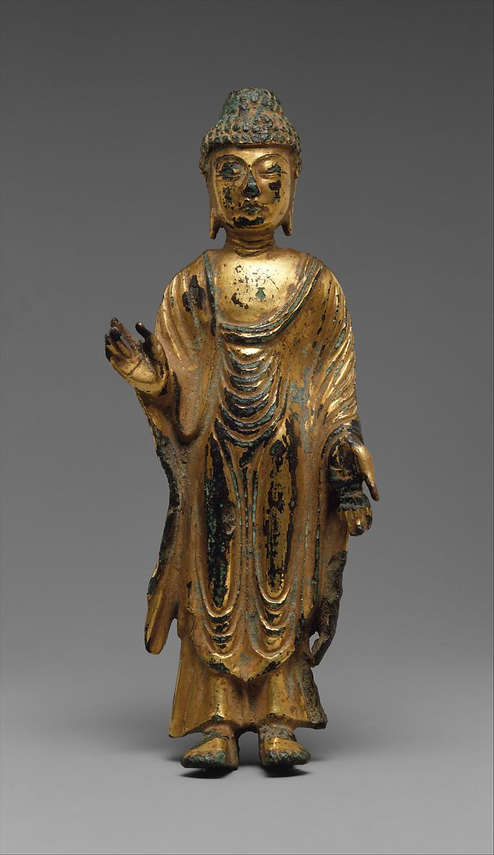 Standing Buddha, Sculpture