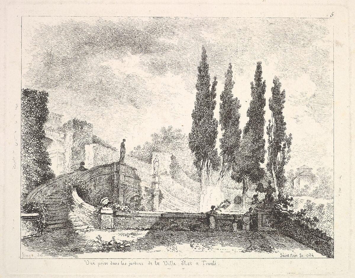 view of the gardens at the villa deste in tivoli cyprus trees to - Jardins De Tivoli