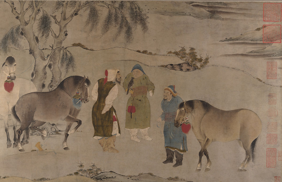 Unidentified Artists Six Horses China The Metropolitan Museum Of Art