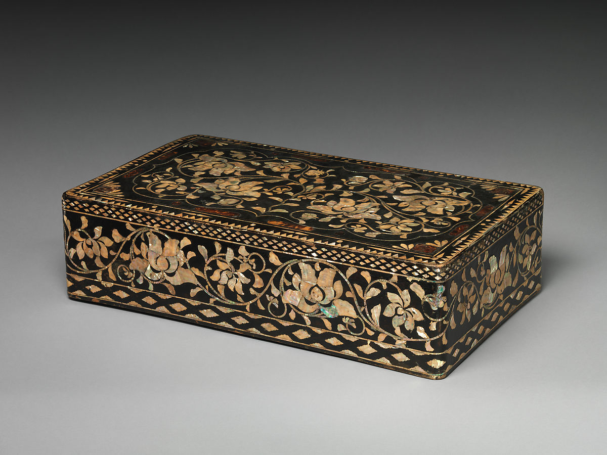 Hand Painted Chinese Traditional style Wood Box