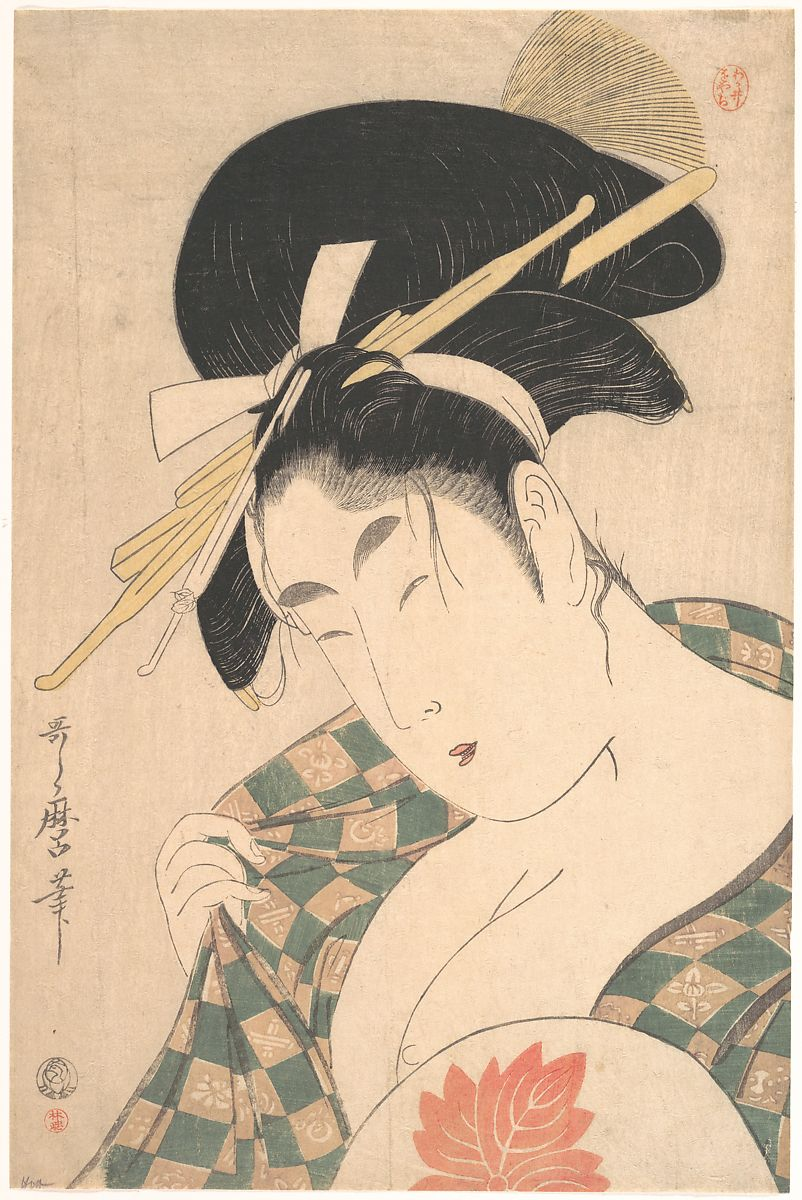Kitagawa Utamaro | A Courtesan | Japan | Edo period (1615–1868) | The Met