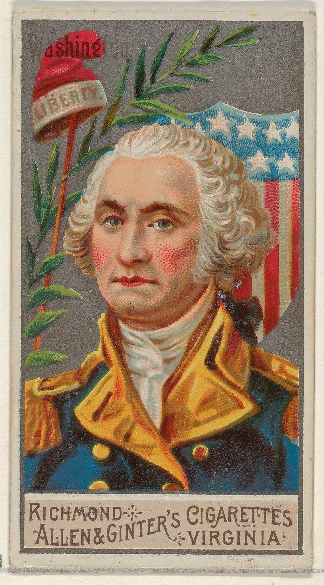 Allen & Ginter | George Washington, from the Great Generals series ...