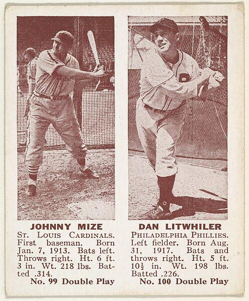 Gum Products, Inc , Cambridge, Massachusettes | Johnny Mize