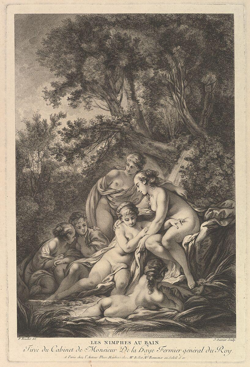 Jean Ouvrier | Les Nimphes au Bain (The Nymphs at the Bath) | The Met