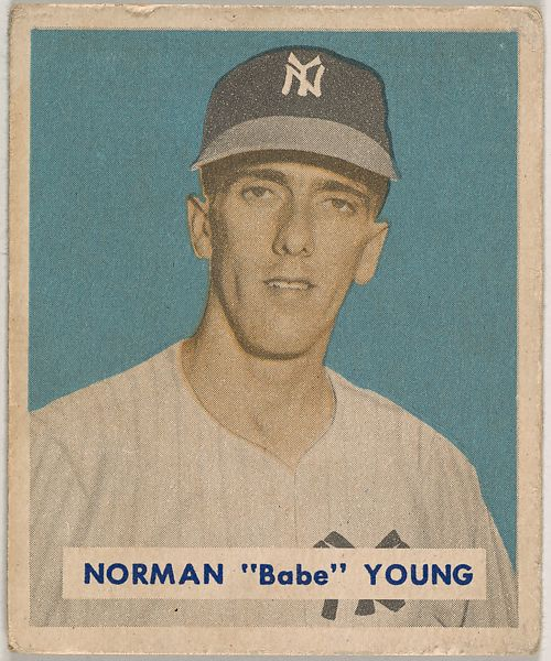 Bowman Gum Company Norman Babe Young Part Of The 1949