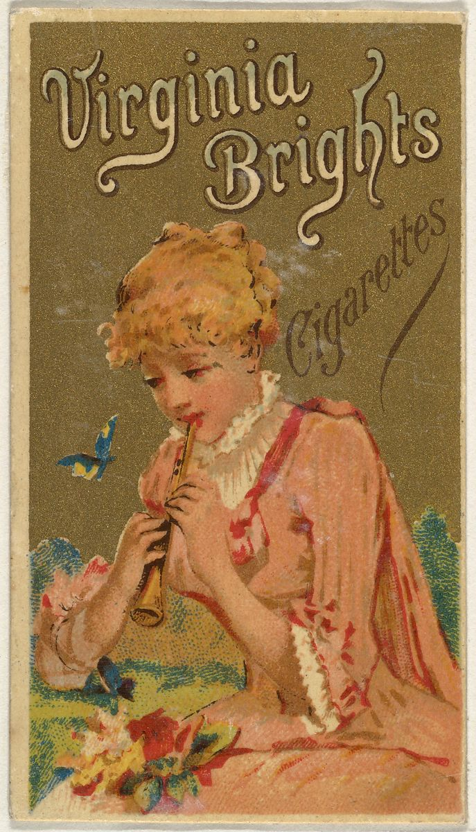 Issued by Allen & Ginter | From the Girls and Children