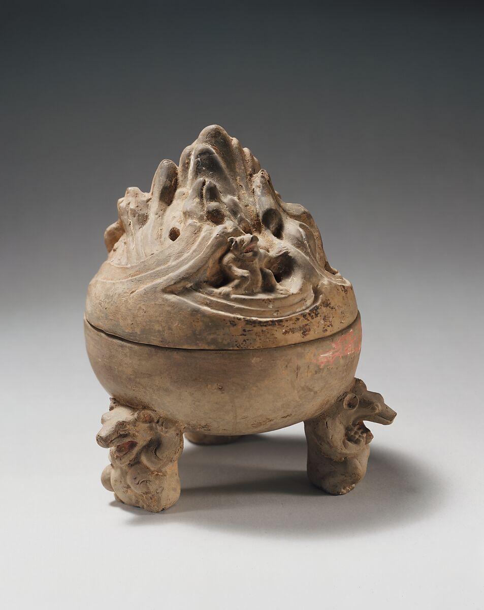Incense Burner China Western Han Dynasty 206 B C A D 9 The Metropolitan Museum Of Art