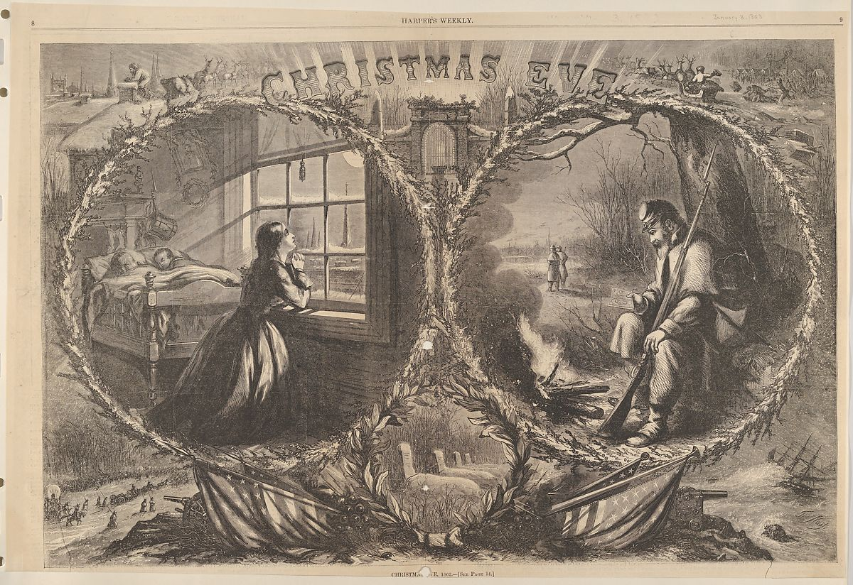 Christmas Eve, 1862 (from Harper's Weekly), Thomas Nast (American (born