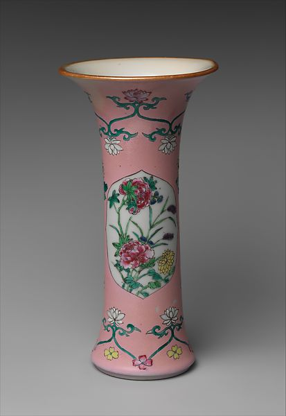 Beaker Vase Chinese The Met
