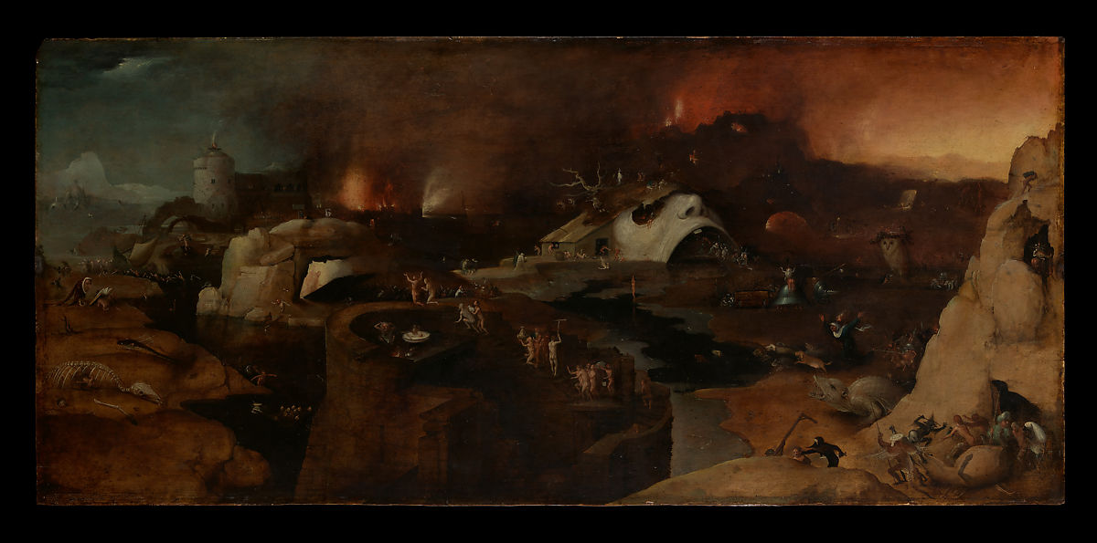 Follower Of Hieronymus Bosch Christs Descent Into Hell The Met