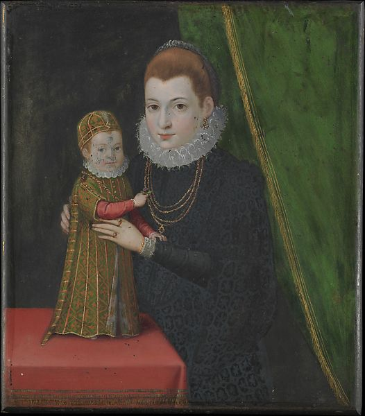 style of 16th century british painter mary queen of scots with