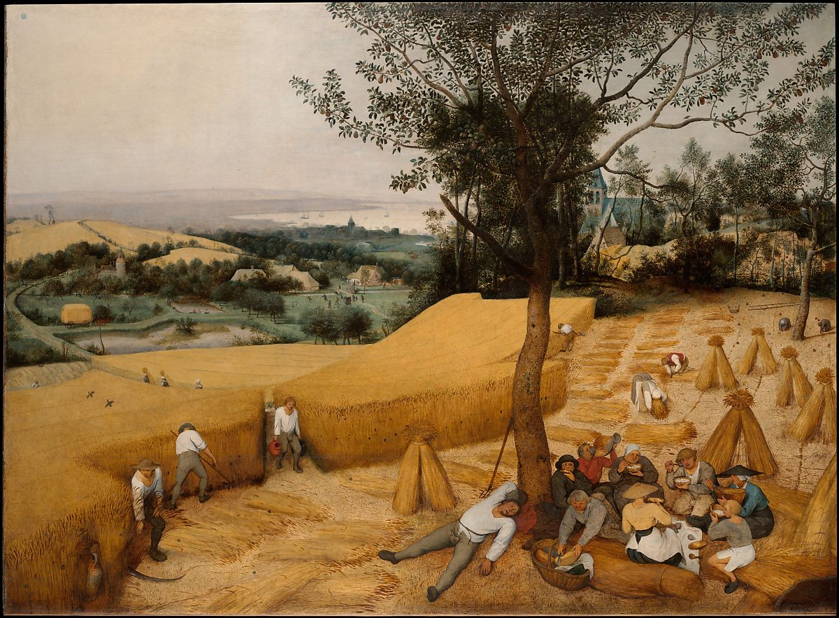 Pieter Bruegel the Elder | The Harvesters | The Met