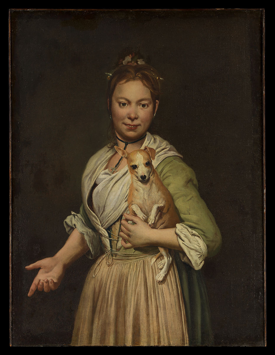 Giacomo Ceruti | A Woman with a Dog | The Met