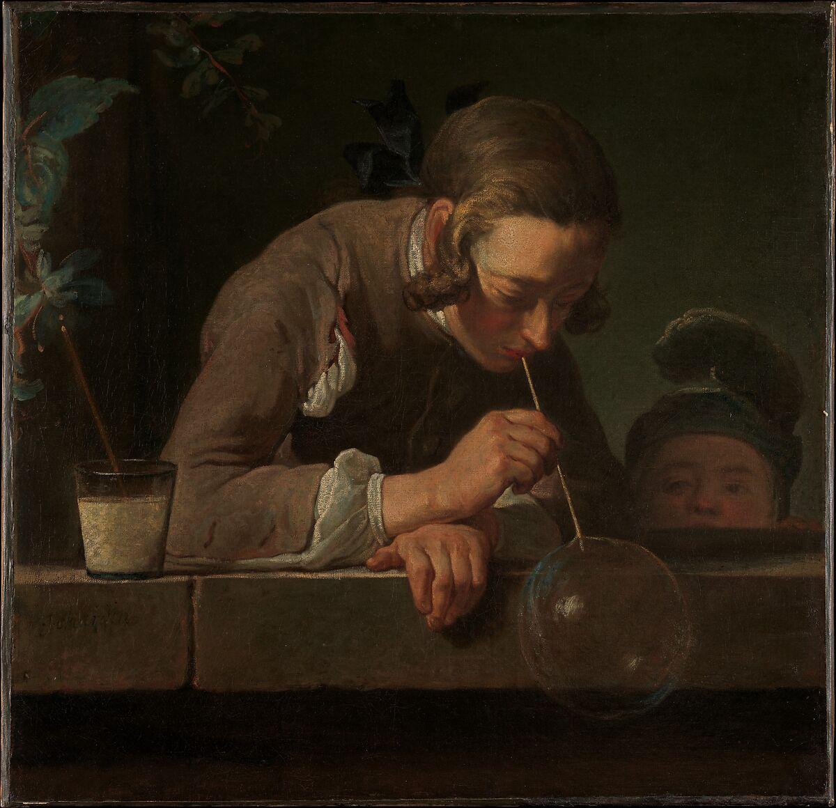 Jean Siméon Chardin Soap Bubbles The Met