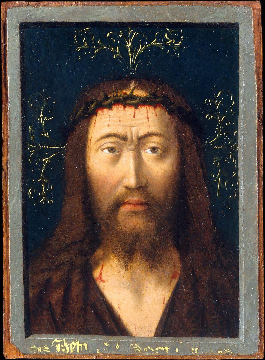 petrus christus head of christ the met