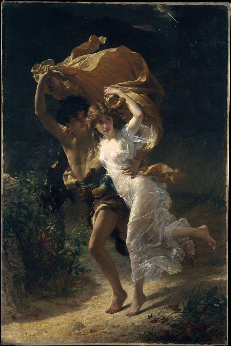 Pierre-Auguste Cot | The Storm | The Met