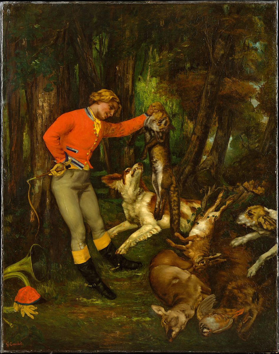 Gustave Courbet | After the Hunt | The Met