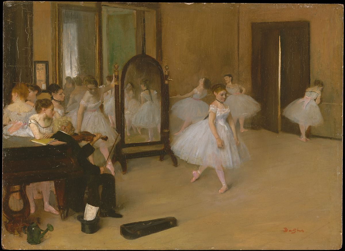 Edgar Degas | The Dancing Class | The Met