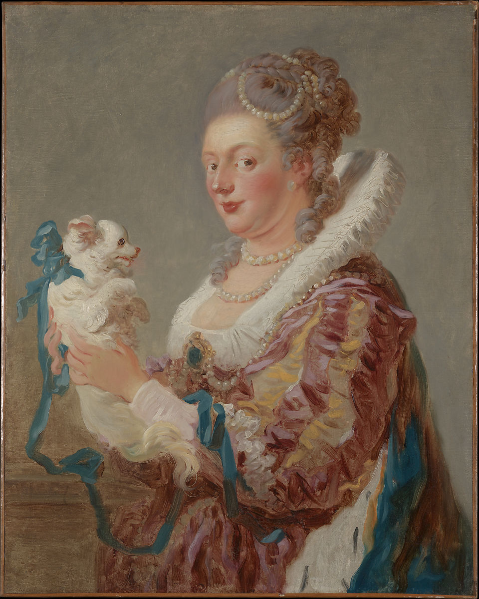 Jean Honoré Fragonard | A Woman with a Dog | The Met