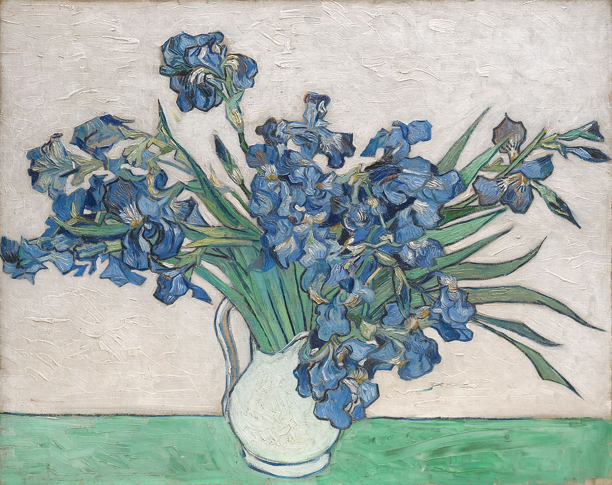 Vincent van gogh irises the met irises vincent van gogh dutch zundert 18531890 auvers sur izmirmasajfo