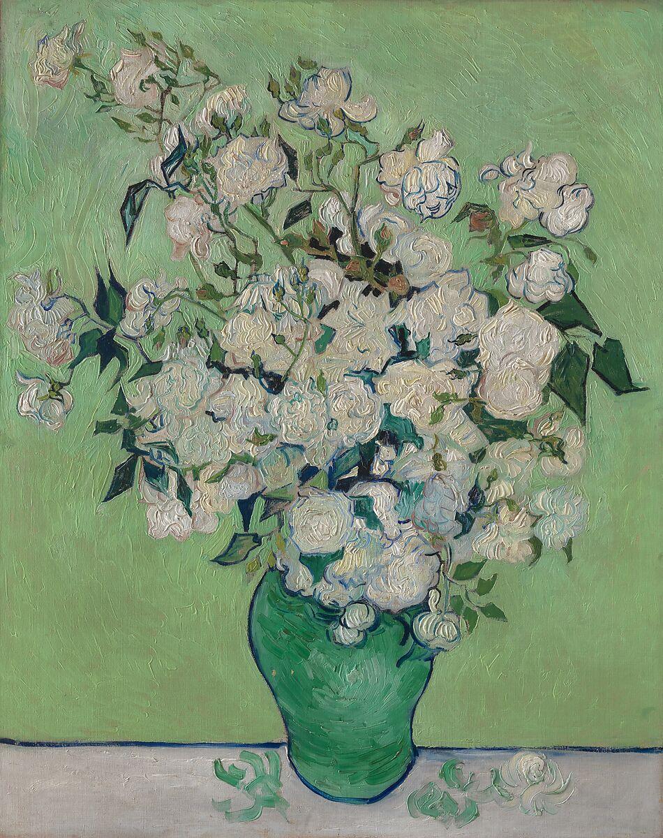Vincent Van Gogh Roses The Metropolitan Museum Of Art