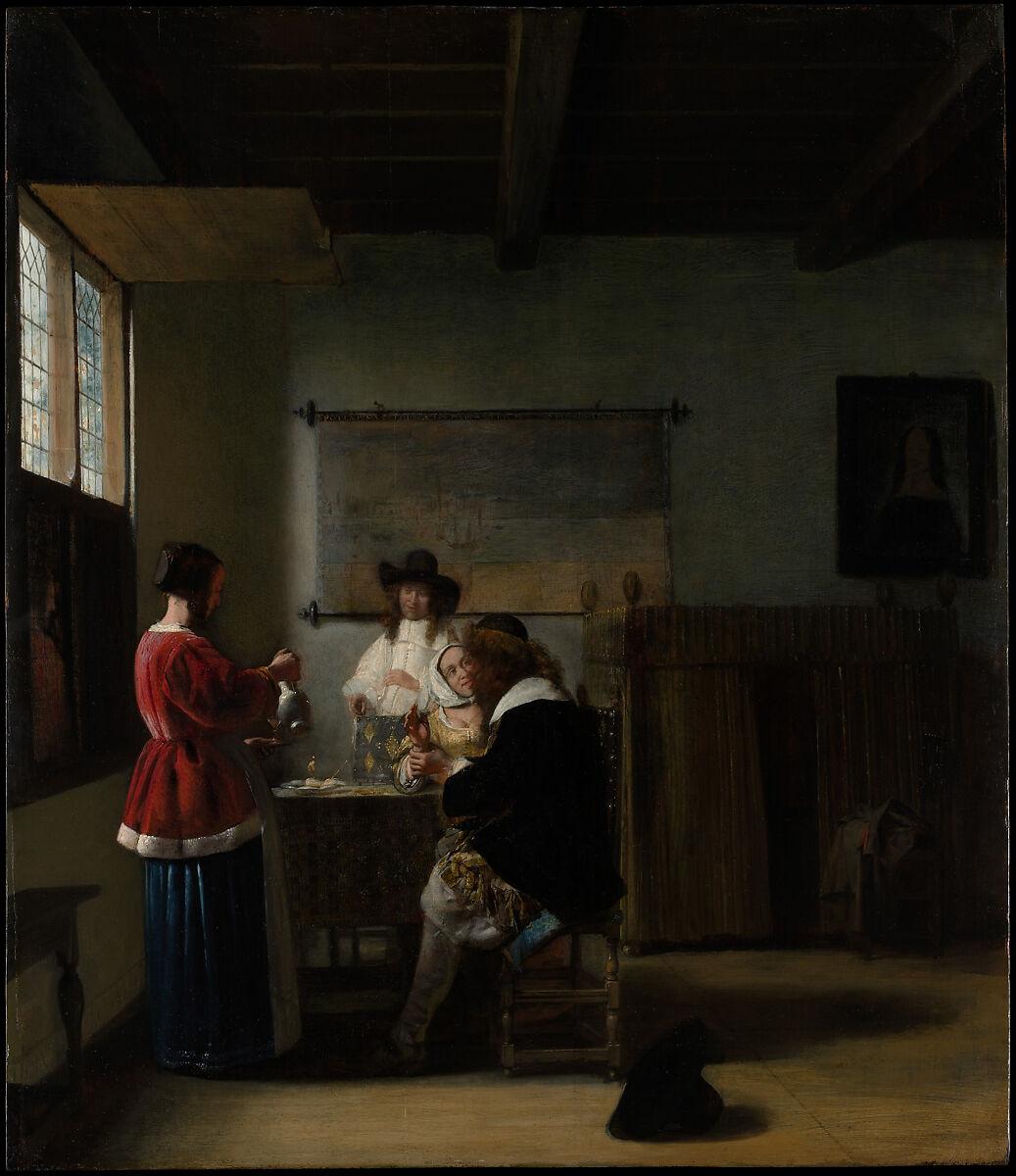 Pieter De Hooch The Visit The Met