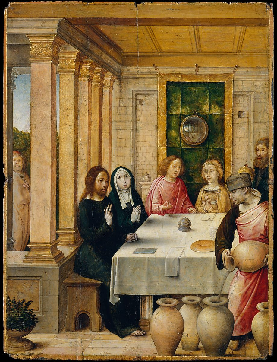 Wedding Feast At Cana.Juan De Flandes The Marriage Feast At Cana The Met
