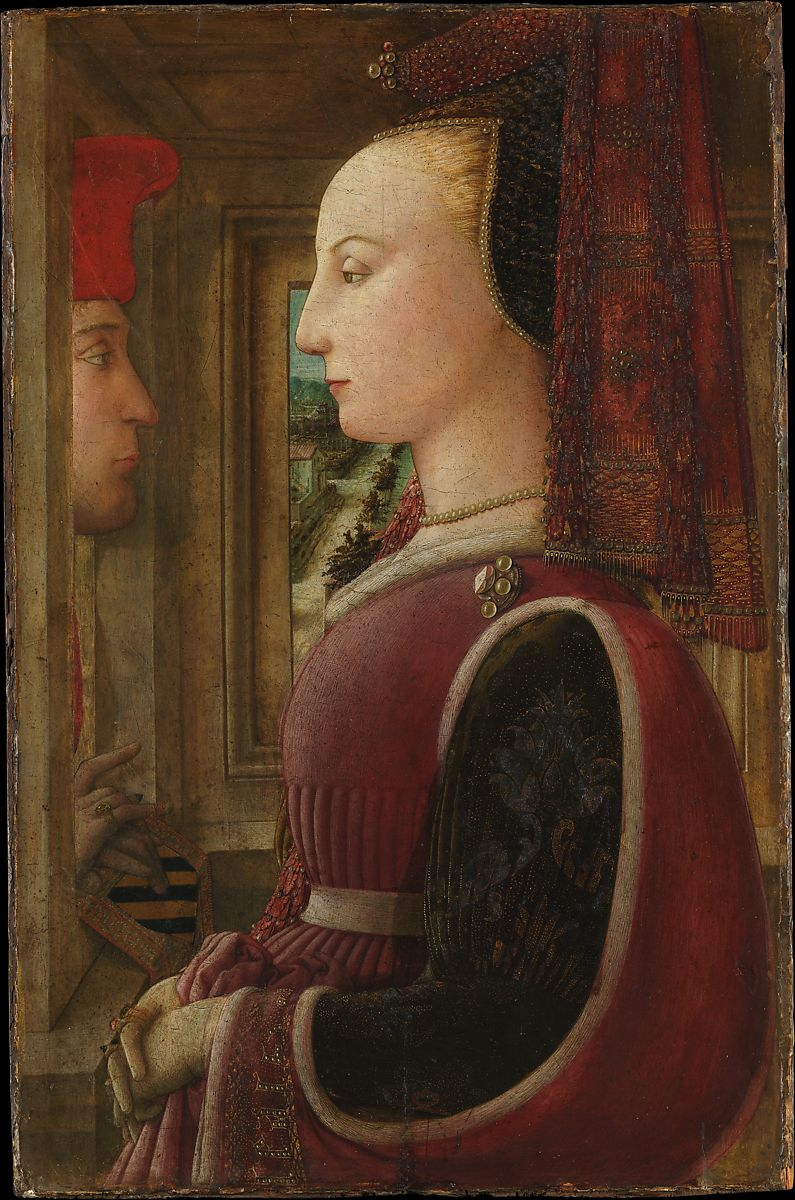 Fra Filippo Lippi | Portrait of a Woman with a Man at a Casement | The Metropolitan Museum of Art