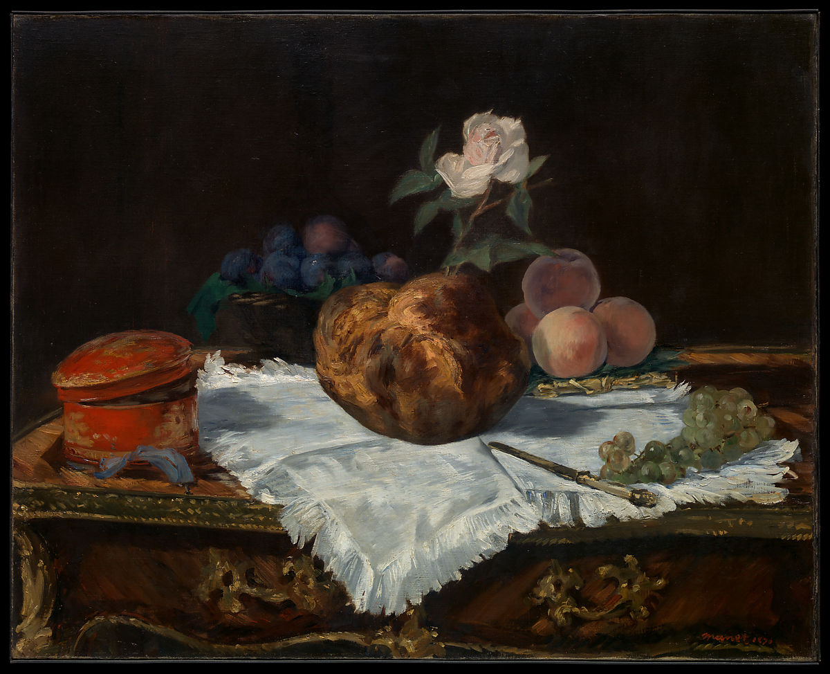 Edouard Manet | The Brioche | The Met
