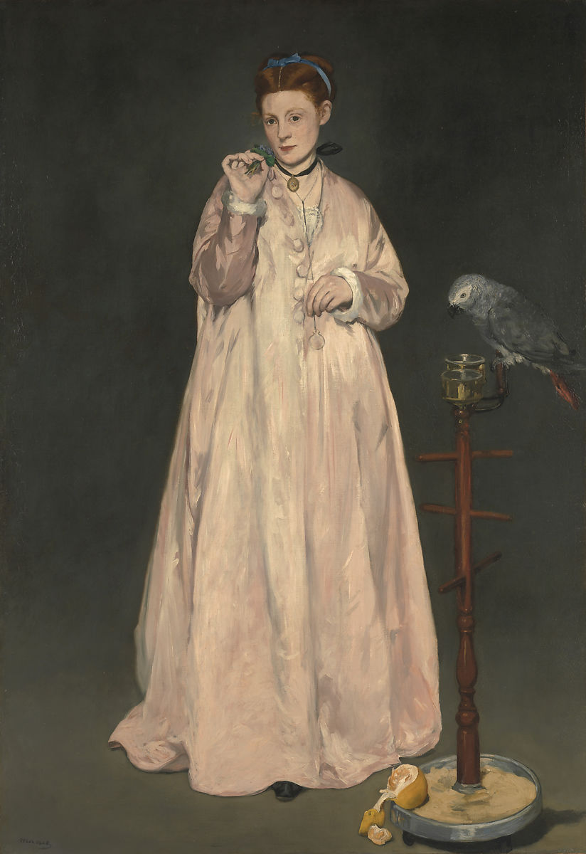 Young Lady in 1866, Édouard Manet (French, Paris 1832–1883 Paris), Oil on canvas
