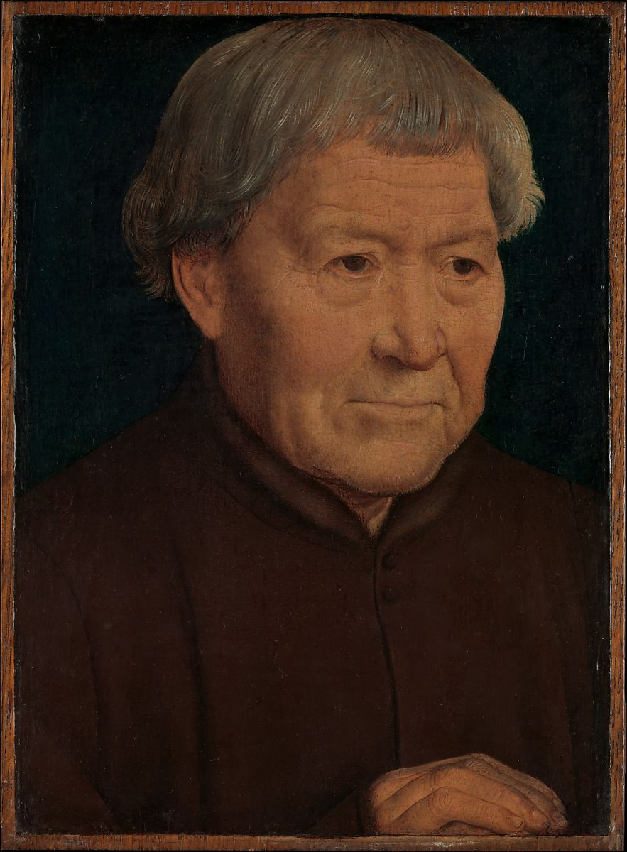 Hans Memling Portrait Of An Old Man The Met