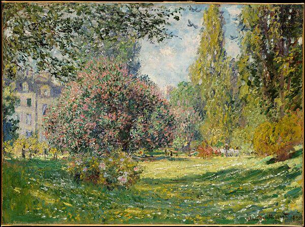 Claude Monet Landscape The Parc Monceau The Metropolitan Museum Of Art