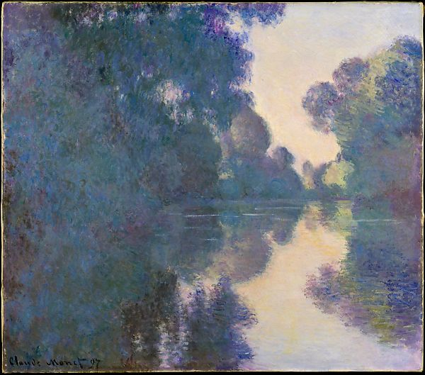 Claude Monet Morning On The Seine Near Giverny The Met