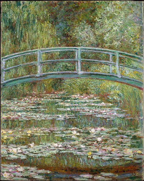 Claude Monet | Bridge over a Pond of Water Lilies | The Met