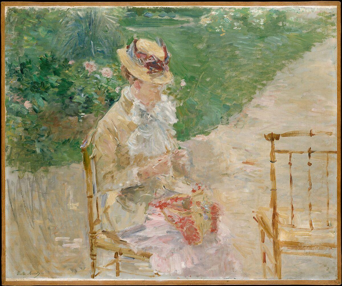 Berthe Morisot | Young Woman Knitting | The Met