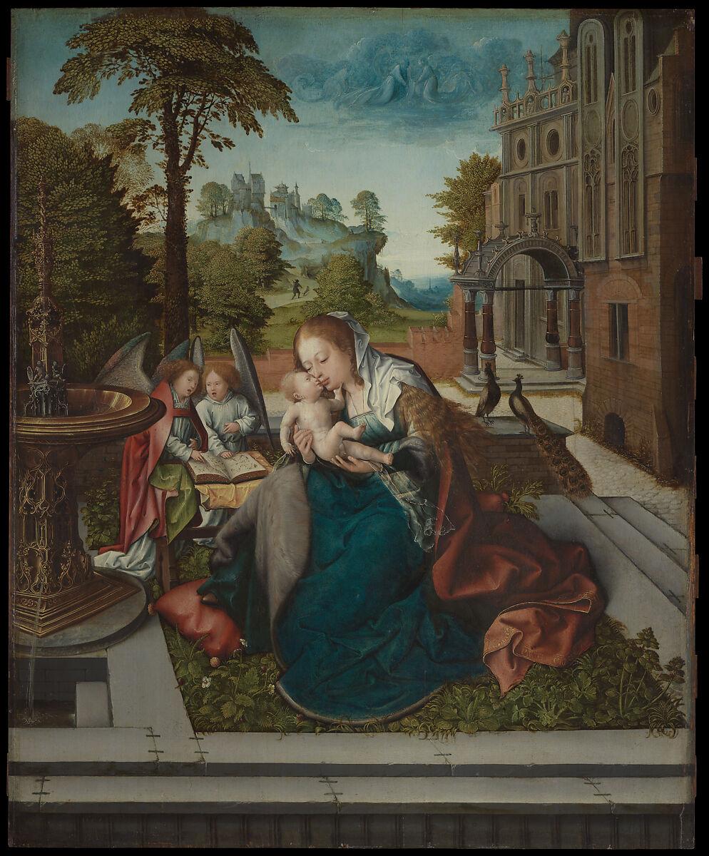 Bernard van Orley | Virgin and Child with Angels | The Met