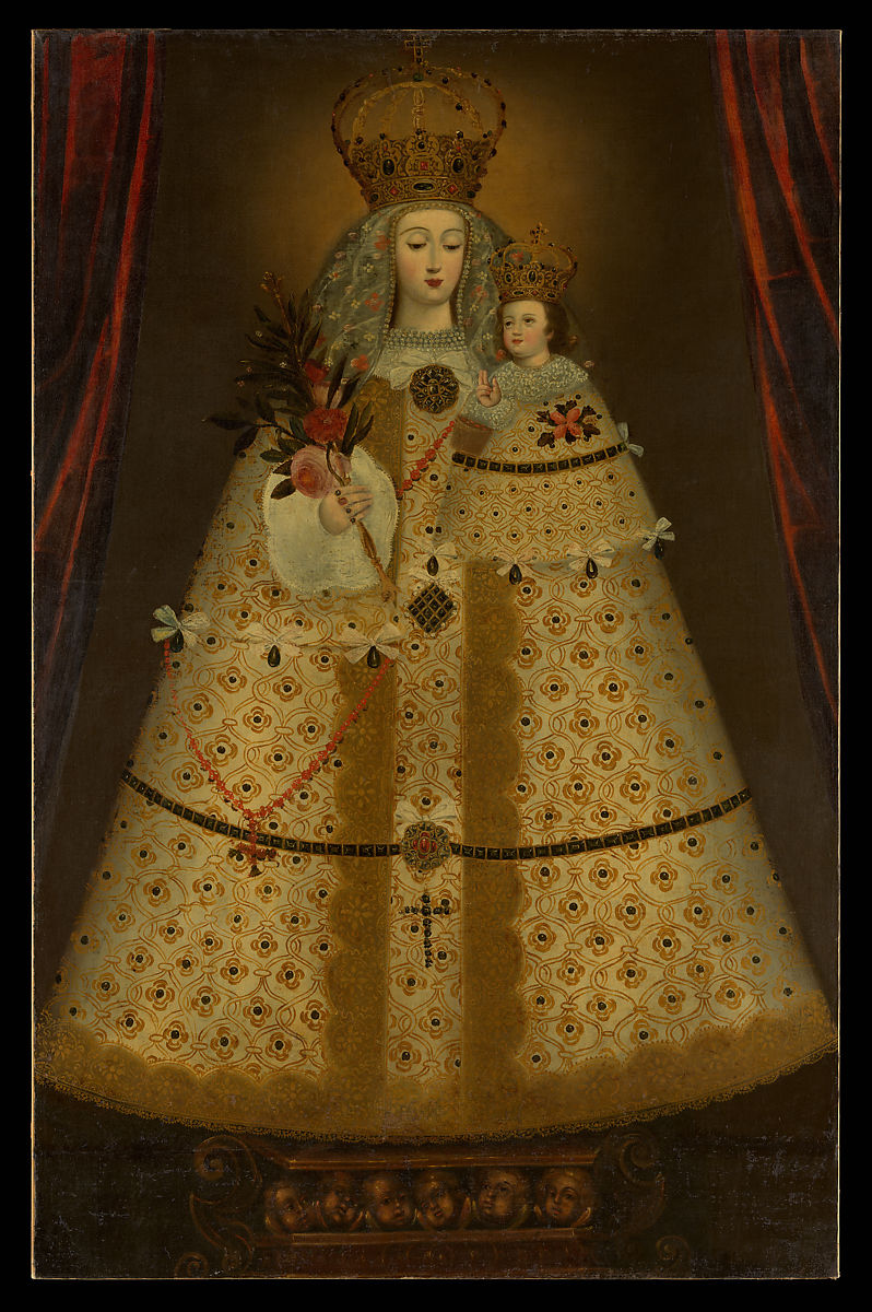 Peruvian (Cuzco) Painter | Our Lady of Guápulo | Peruvian | The Met